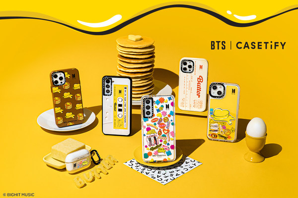 """The global lifestyle brand, CASETiFY, introduces a variety of special-edition products designed around """"Butter,"""" a No.1 Billboard song."""