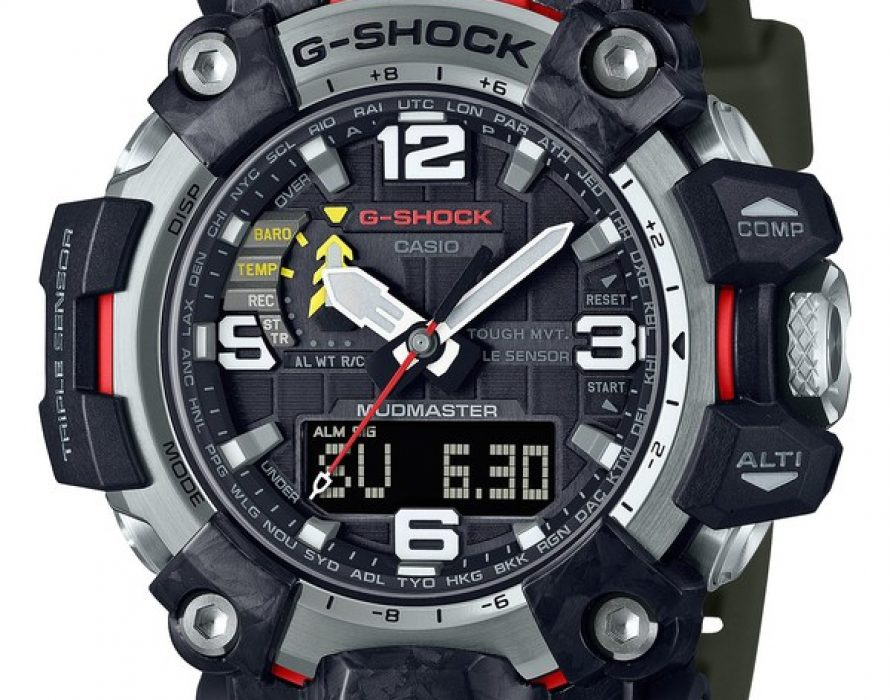 Casio to Release First G-SHOCK MUDMASTER Built with Forged Carbon