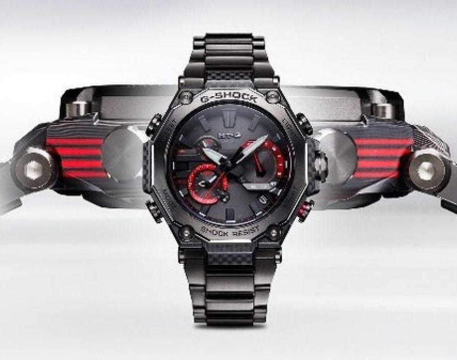 Casio to Release MT-G with All-New Exterior Design Featuring Multilayer Carbon Bezel