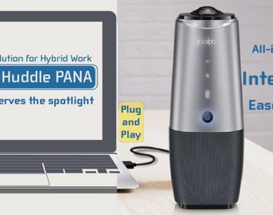 CoolpoTools Upgrades Software for PANA Smart Video Conferencing Camera to Fulfill Hybrid Working Needs