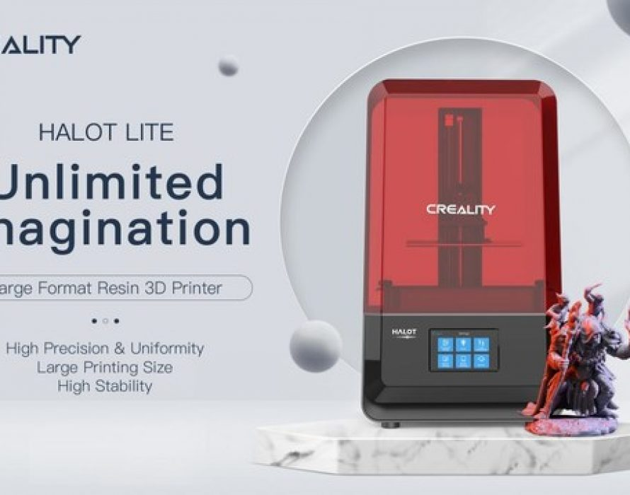 Creality Reveals Newest Addition to HALOT LCD 3D Printer Series