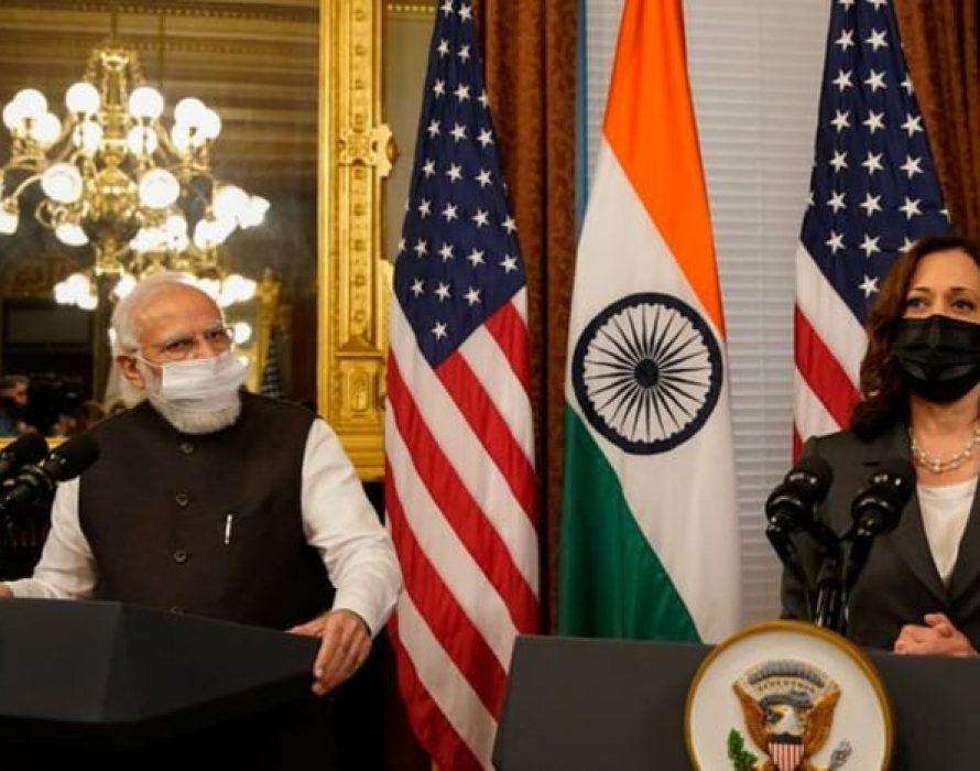VP Harris and Indian Prime Minister Modi meet as U.S. eyes Asia
