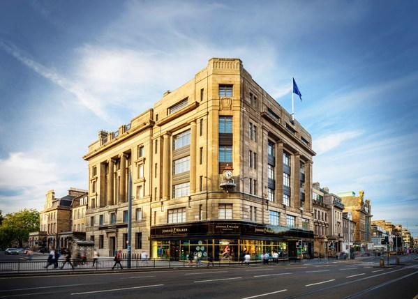 Johnnie Walker Princes Street, the eight-floor new visitor experience for the world's best-selling Scotch whisky, has today been launched in the heart of Scotland's capital city, Edinburgh. (PRNewsFoto/Johnnie Walker/Diageo)