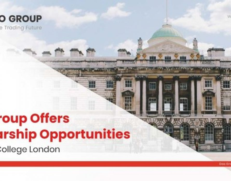 Doo Group Offers Scholarship Opportunities At King's College London