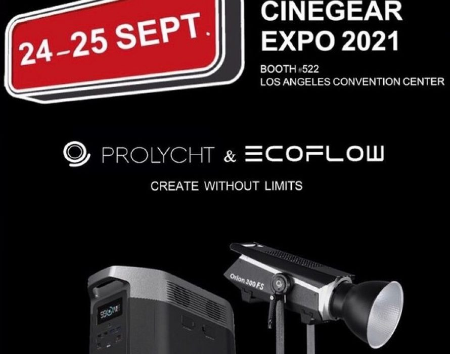EcoFlow and Prolycht Bring Their Latest Tech to Cine Gear Expo 2021