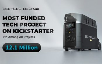 EcoFlow DELTA Pro Breaks Kickstarter's Record for Most Funded Tech Project