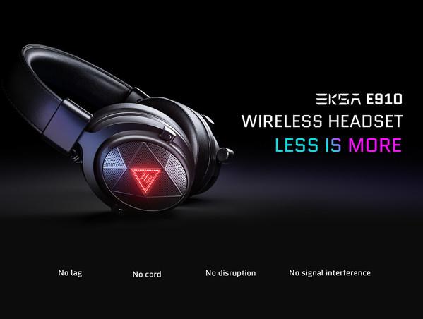 EKSA® E910 5.8GHz Wireless Gaming & Music Headset