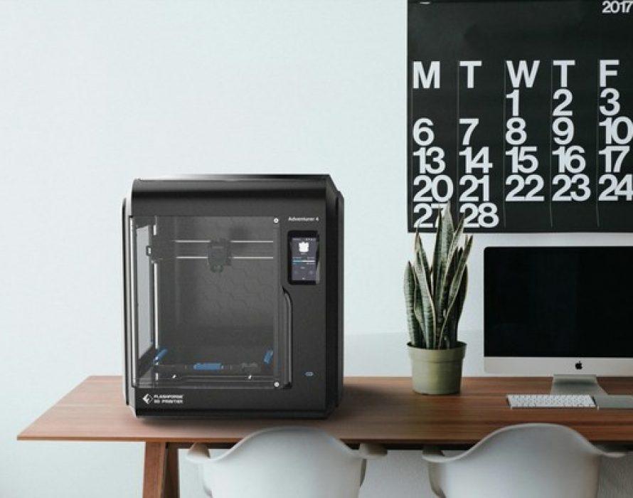 Flashforge Announced New Enclosed FDM 3D Printer – Adventurer 4