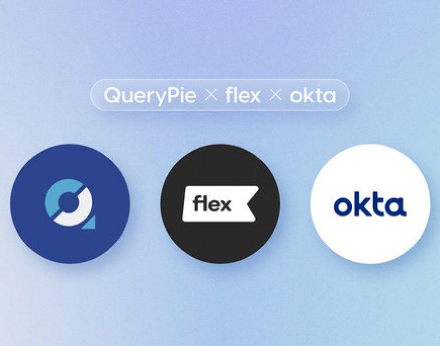 Flex boosts data governance via QueryPie and Okta's SSO integrations, leading the cloud HR management platform market in Korea
