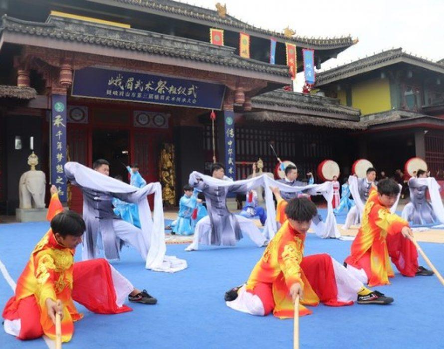 Flexible and Agile E'mei Wushu for Sichuan International Travel Expo