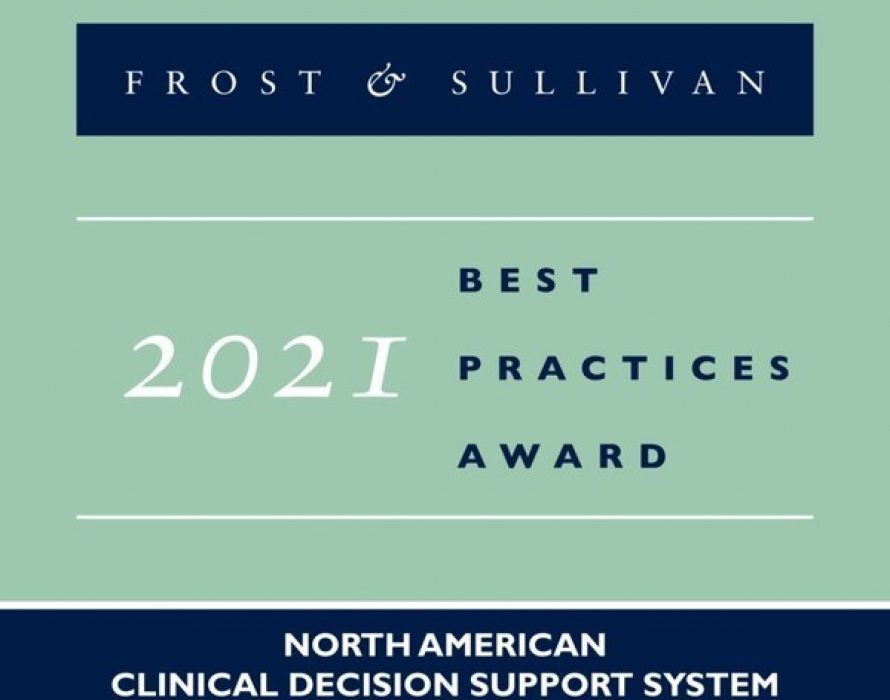 Frost & Sullivan recognizes Change Healthcare with the 2021 North America Customer Value Leadership Award for Clinical Decision Support