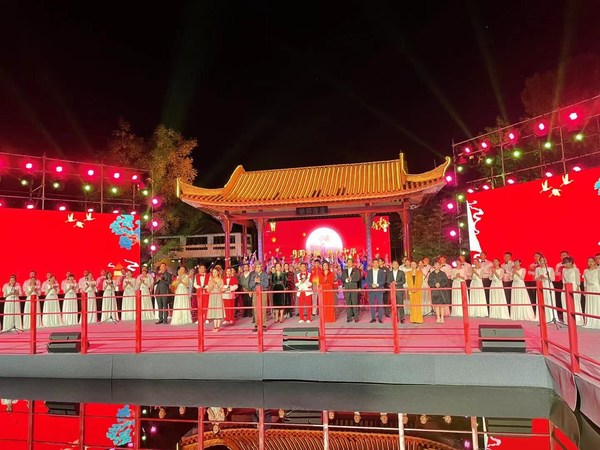 """Full Moon in Beijing, Love Across China"" – 2021 ""Lugou Xiaoyue"" Mid-Autumn Festival Grand Event Showcased in Beijing Garden Expo"