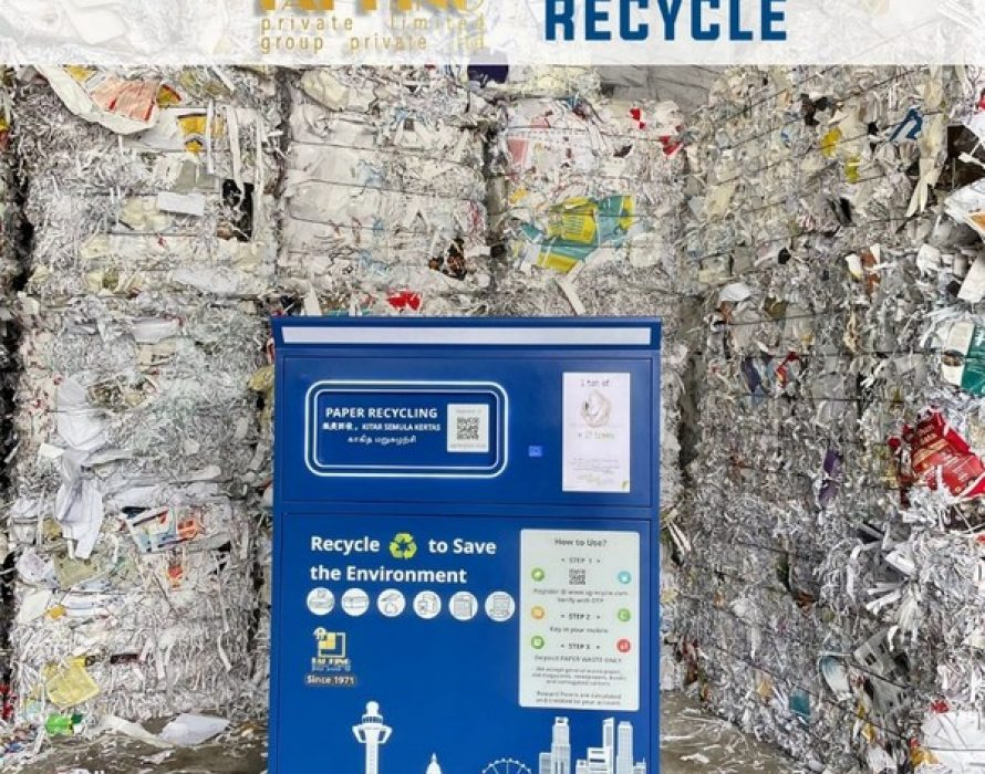 Green Tech startup SGRecycle raises $1.4m in seed funding from Recycling Industry Veteran Tai Hing Paper