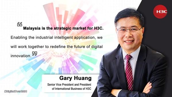 Gary Huang, H3C's Senior Vice President and President of International Business