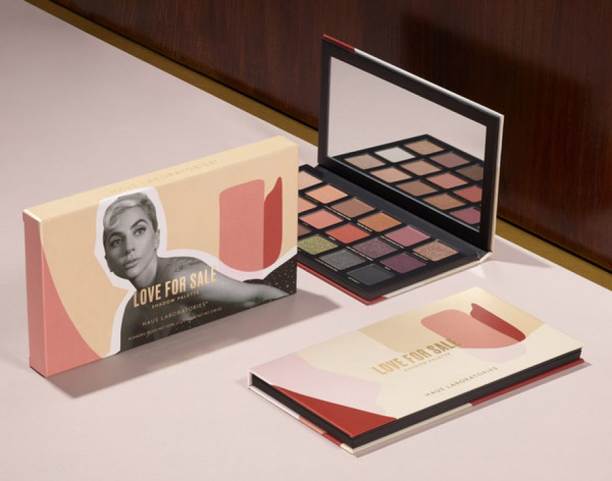 Haus Laboratories Makeup By Lady Gaga Unveils Love For Sale Shadow Palette – New High-Performance Formulas That Deliver True To Pan Color And Pay Homage To A Special Friendship, A Jazz Duet Album, And A Classic Glam Era