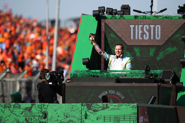 Heineken(R) and TIESTO celebrate the return of Formula 1(R) to Zandvoort, with a unique performance live streamed directly from the track from the F1 Heineken Dutch Grand Prix