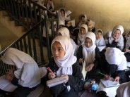 Afghanistan's Taliban say working on reopening girls' high schools