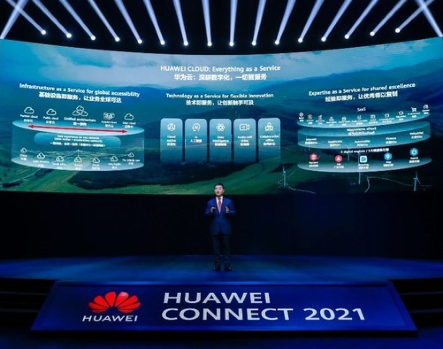HUAWEI CLOUD: Everything as a Service