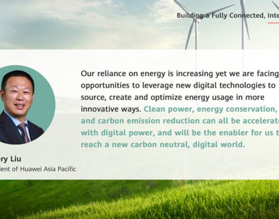 Huawei: Powering a Low-Carbon APAC with Digital Innovation