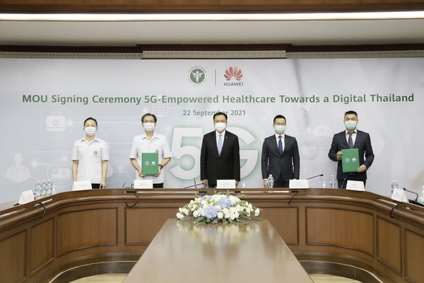 Huawei and Thailand Ministry of Public Health Sign MoU for 5G-Empowered Healthcare
