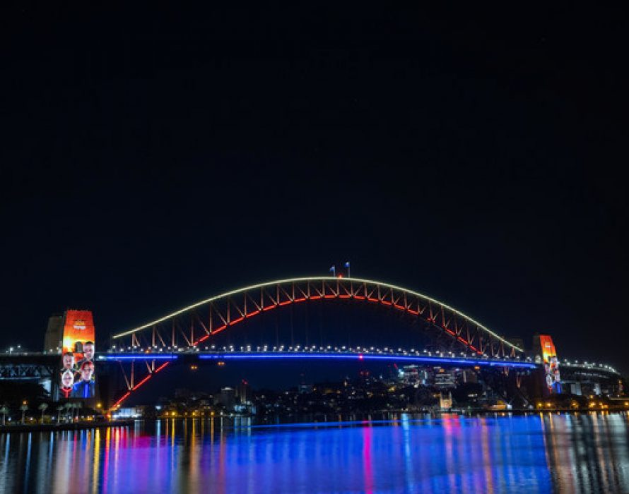 Iconic Music Sensation ABBA Launch New Album Voyage Illuminating The Sydney Harbour Bridge As Part Of Global Album Announcement