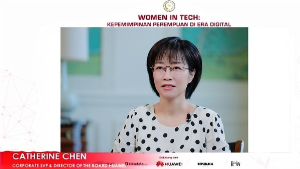 Catherine Chen, Huawei President of the Public Affairs and Communications Dept