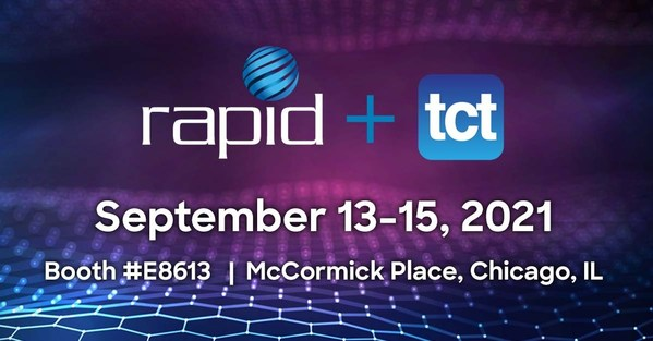 RAPID + TCT 2021, North America's most influential additive manufacturing event, will be held at McCormick Place Lakeside Center in Chicago from September 13-15, 2021. Visit Infinite and Interfacial at Booth# E8613.