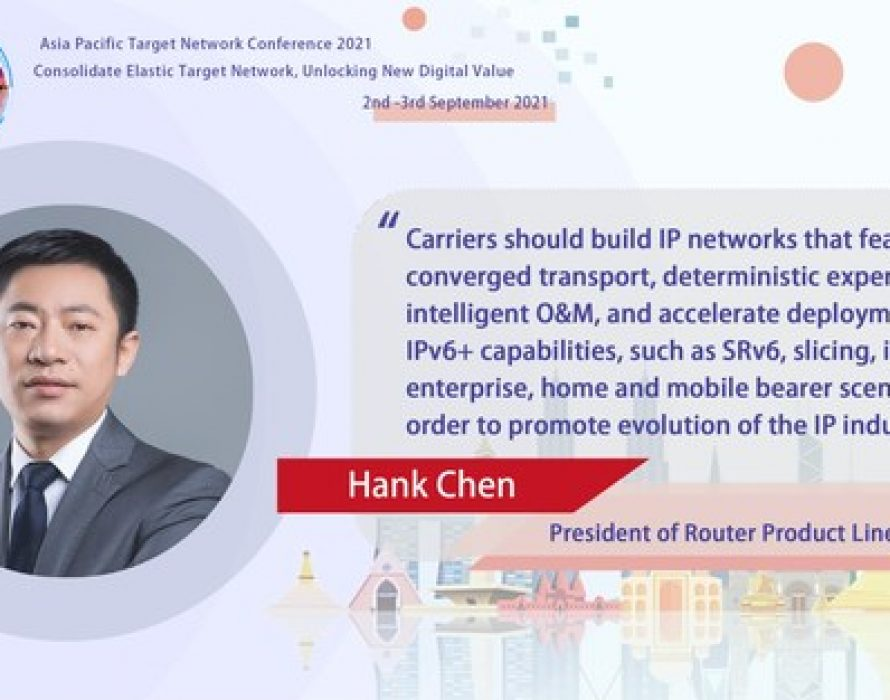 IPv6+ Accelerates Carriers' Target Network Development in Asia Pacific