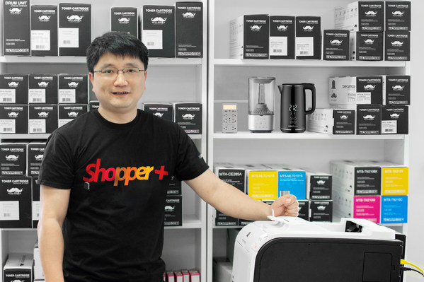 Jack Zhan, Founder and CEO of ShopperPlus