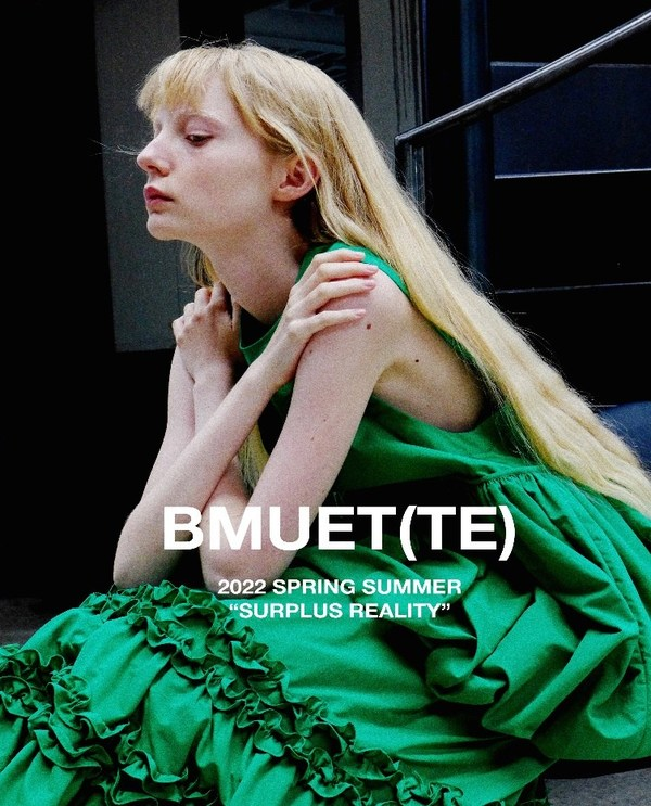Images from the collection by BMUET(TE) from Seoul for the 2022 S/S London Fashion Week