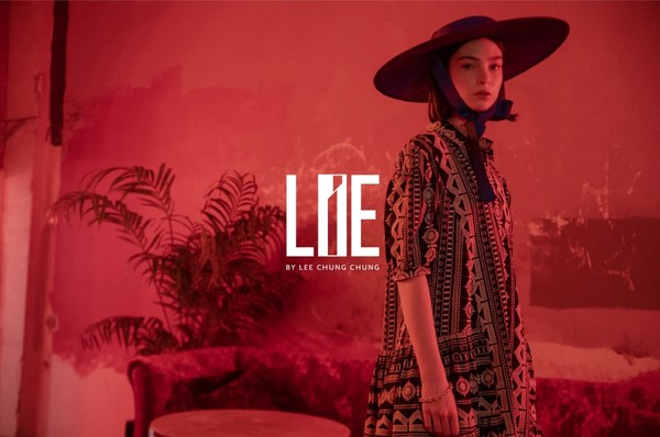 Images from the collection by LIE from Seoul for the 2022 S/S London Fashion Week