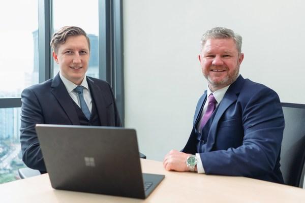 Reuben van Dijk and Mark Owens of Melbourne Capital Group