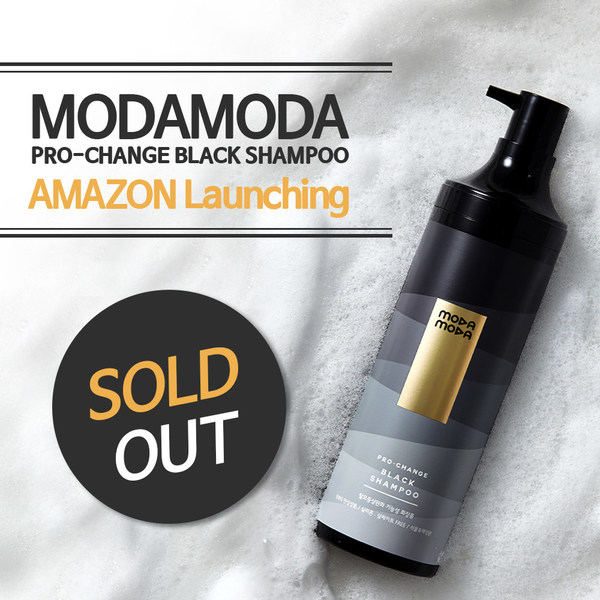 MODAMODA's Pro-Change Black Shampoo Successfully Launched And Sold Out Within A Day