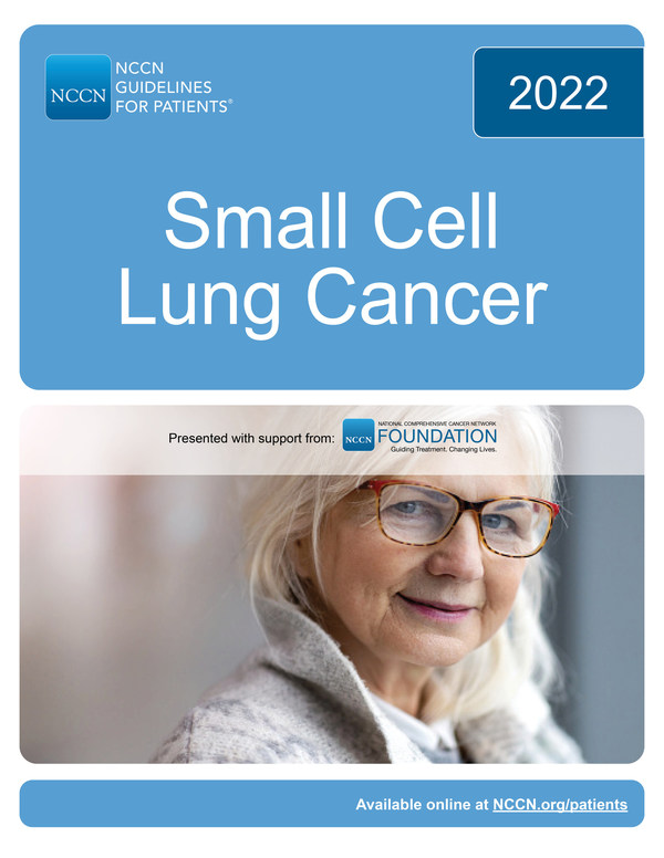 New NCCN Guidelines for Patients®: Small Cell Lung Cancer Now Available for Free at NCCN.org/patientguidelines