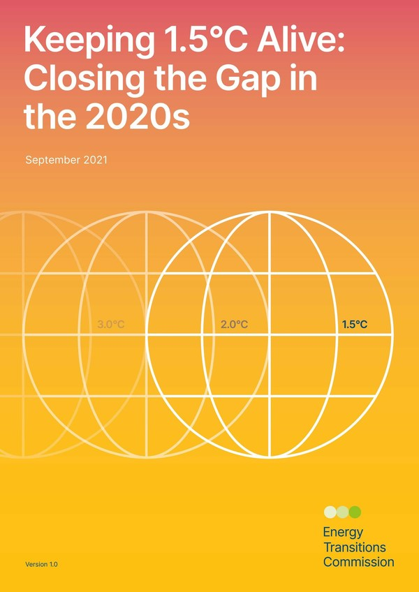 Energy Transitions Commission Report - Keeping 1.5 Alive: Closing the Gap in the 2020s