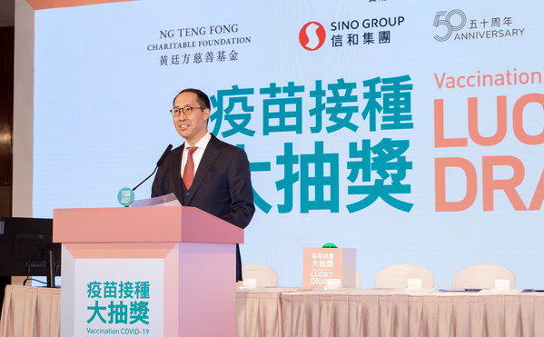 Mr Daryl Ng, Director of Ng Teng Fong Charitable Foundation Limited, congratulates the winners and thanks Hong Kong Residents for their support.