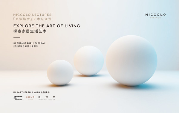 """Niccolo Lectures -- """"Explore the art of living"""""""
