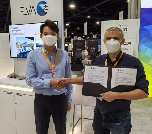 MOU signing between PABLO AIR and EVA