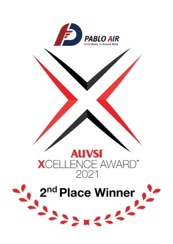 PABLO AIR Ranked 2nd place in the XCELLENCE in Operations category at the AUVSI XCELLENCE Awards