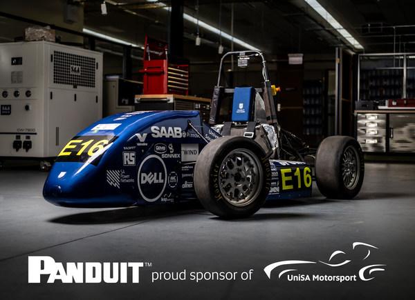 Panduit TM Australia Partners with University of South Australia's Electric Formula SAE Program