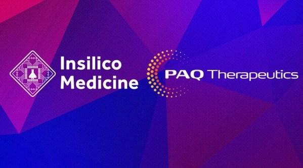 PAQ Therapeutics Announces Collaboration with Insilico Medicine