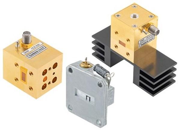 pe waveguide gunn diode oscillators
