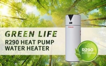 PHNIX Launched A New Inverter All-in-one Air Source Heat Pump Water Heater Using Propane (R290) Refrigerant