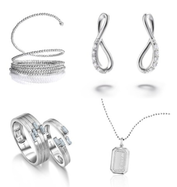 Collections from left to right, top to bottom: Platinum Born, Platinum Woman, Platinum Days of Love, Pt Moment®