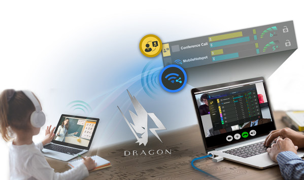 Fig. 3: Realtek Dragon Hotspot traffic control Realtek Dragon helps you manage the hotspot traffic shared by the computer.