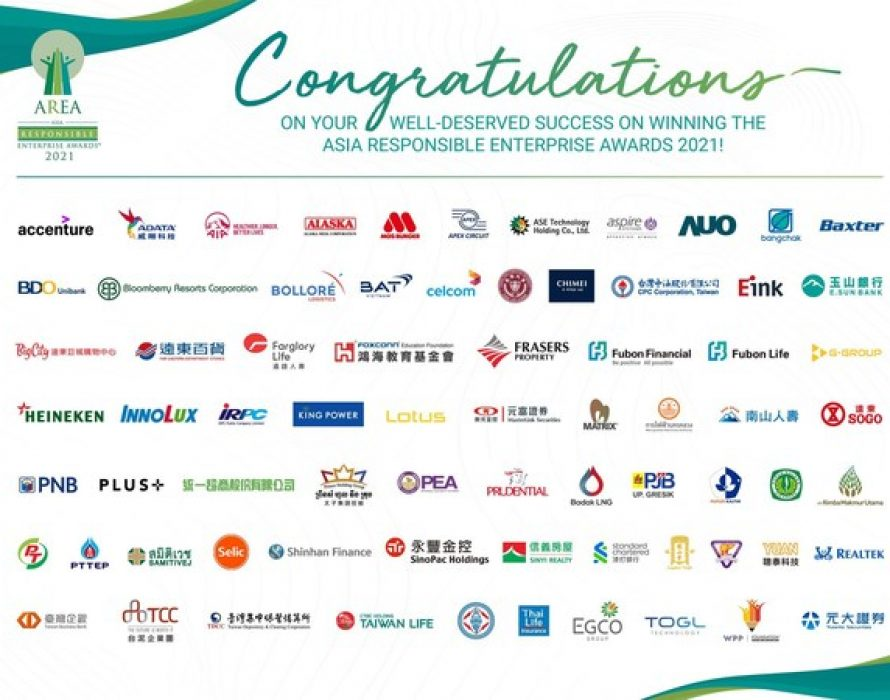 Rebuilding Towards a Sustainable and Resilient World with 69 Asia Responsible Enterprise Awards 2021 Aspiring Award Recipients