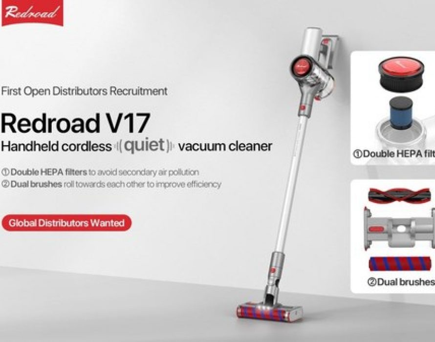 Redroad V17: Cordless vacuum made with top-class quality