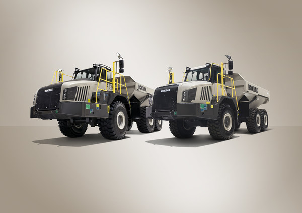 The 28-tonne payload RA30 and 38-tonne payload RA40 from Rokbak are the most productive and efficient articulated haulers the company has ever made