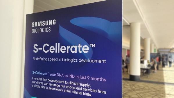 Samsung Biologics introduced its CDO process platform, S-Cellerate(TM), at BPI 2021