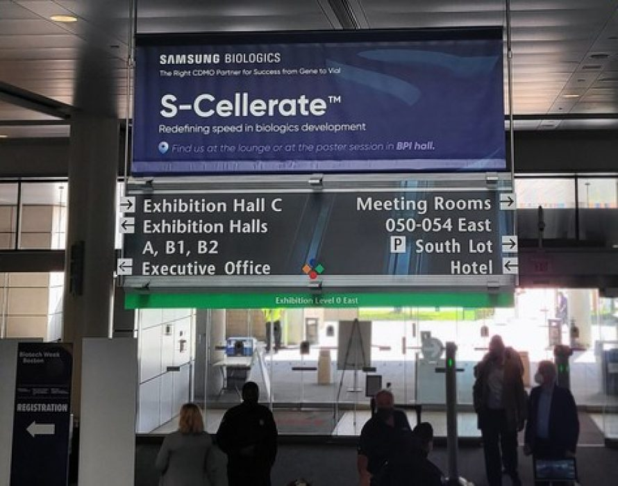 Samsung Biologics showcases its newest CDO process platform, S-Cellerate™, at BPI 2021, offering expedited timeline to IND and BLA